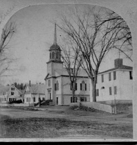 Our church in the late 1880s